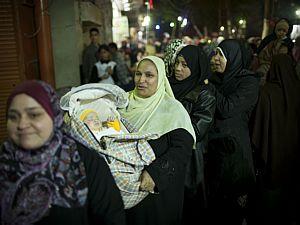Eleição no Egito tem longas filas; 1º dia termina sem incidentes