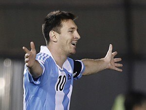 LIONEL MESSI É TRUNFO ARGENTINO