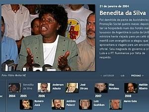 Relembre todos os ministros de Lula derrubados por escândalos - Reprodução