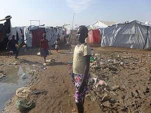 Refugiados lutam pela sobrevivência
