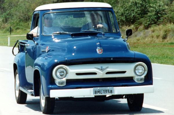 Picape Ford F Series Completa 65 Anos Jornal Do Carro