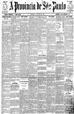 Em editorial, jornal comemora a abolição dos escravos, 13/5/1888
