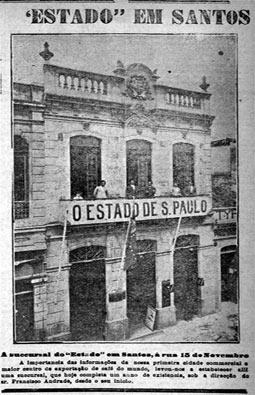 Sucursal da Província em Santos