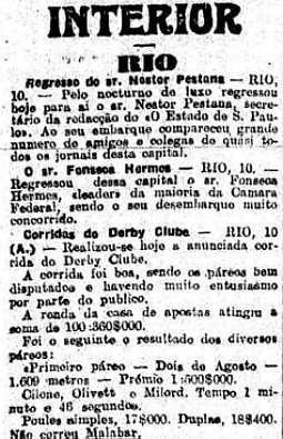 Nestor Pestana assumiu interinamente a chefia de Redação