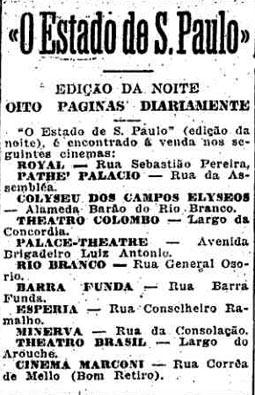 Estado lança a Edição da Noite para publicar principalmente notícias da Primeira Guerra