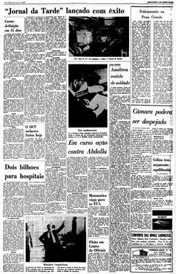 Começa a circular o Jornal da Tarde, 5/1/1966