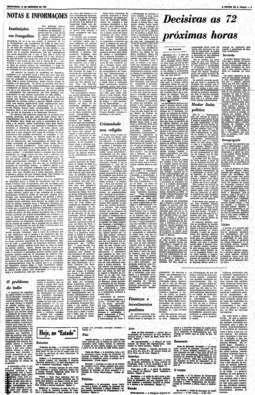 Editorial Instituições em Frangalhos publicado em 13/12/68, horas antes do AI-5,  que levou à apreensão da edição do jornal