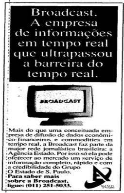 Estado adquire a Broadcast