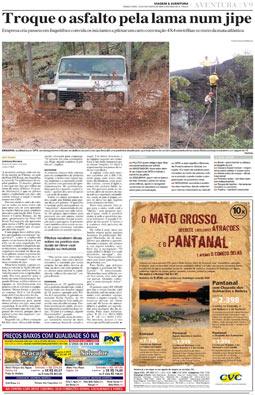 Novo suplemento Viagem & Aventura, 19/10/2004