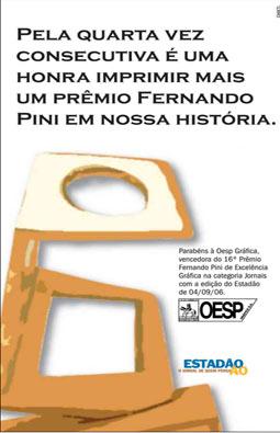 Estado ganha pela 4.ª vez o Prêmio de Excelência Gráfica