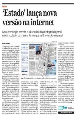 Estado lança nova versão na Internet