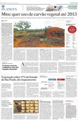 Ampliação do projeto Planeta, com uma página semanal e um caderno mensal, 17/3/2010