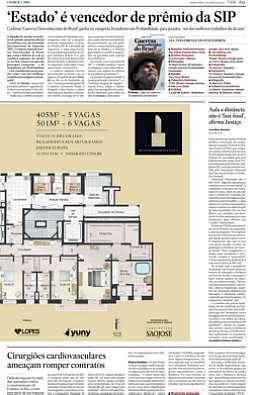 Estado ganha prêmio anual Excelência Jornalística 2011