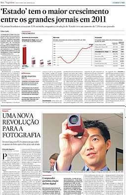 Estado tem o maior crescimento entre os grandes jornais em 2011