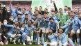 Manchester City bate Tottenham e conquista a Copa da Liga Inglesa pela 8ª vez
