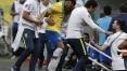 Brasil vence amistoso e Neymar sai machucado