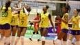 Seleção feminina de vôlei ganha do Peru e se classifica à final do Sul-Americano