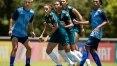 Pia coloca seleção feminina para jogar contra times masculinos de base de Grêmio e Cruzeiro-RS