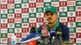 Gilberto lamenta 'resultado muito ruim', mas pede apoio à torcida do Fluminense