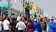 Barrichello comemora o bi na Corrida do Milhão