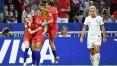 Sem Rapinoe, EUA derrotam Inglaterra e vão tentar 4º título mundial