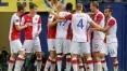 Com surto de covid-19, clube checo tem só 14 jogadores para duelo da Liga Europa