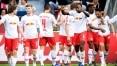 Com golaço de brasileiro, RB Leipzig vence Leverkusen de virada no Alemão