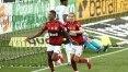 Corinthians é atropelado pelo Flamengo no 1º tempo e sofre mais uma derrota em casa
