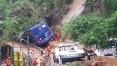 Sobe para seis o número de mortos em temporal no RJ