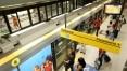 Foliões acionaram 39 vezes botão de emergência no Metrô durante o fim de semana