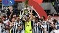 Juventus derrota Atalanta por 2 a 1 e volta a conquistar Copa Itália depois de três anos