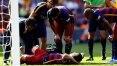 Neymar perde pênalti, mas Barça vence em casa