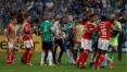 Com 4 jogos, Moisés e Paulo Miranda recebem maiores penas por briga no Gre-Nal