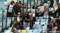 Torcida do Corinthians entra em confronto com policiais e flamenguistas no Maracanã
