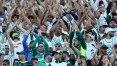 Palmeiras supera o Grêmio em sócios-torcedores