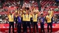 FIVB divulga ranking internacional e Brasil segue entre os primeiros no vôlei