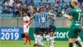Grêmio faz 4 a 0 sobre o São Luiz e se isola na liderança do Gaúcho