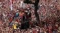 Embarque do Flamengo para o Mundial mobiliza segurança no Rio de Janeiro