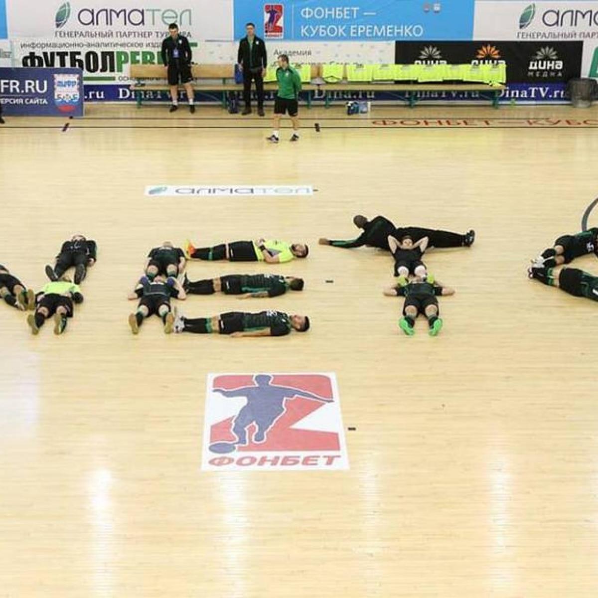 3d3b930a79 Time de futsal faz homenagem a rival diagnosticado com câncer - Futebol -  Fera