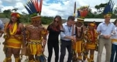 Visita a cooperativa indígena