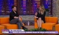 Luciana Gimenez e Marco Antônio Gimenez