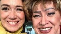 Elogiada, atriz chora no 'Mais Você'