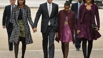 Família Obama ficará hospedada em casa de Clooney