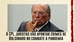 À CPI, juristas vão apontar crimes de Bolsonaro...