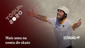 Brasil ganha terceira medalha de prata no skate