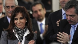 Cristina Kirchner vai se candidatar a vice na...