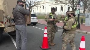 Washington sob forte segurança
