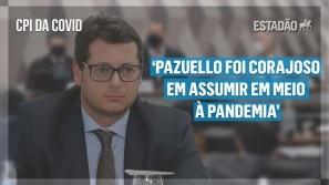 Wajngarten na CPI da Covid: Pazuello foi corajoso...
