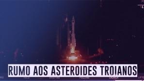 Missão espacial de 12 anos rumo aos asteroides...