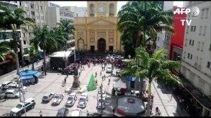 Homem abre fogo na Catedral em Campinas